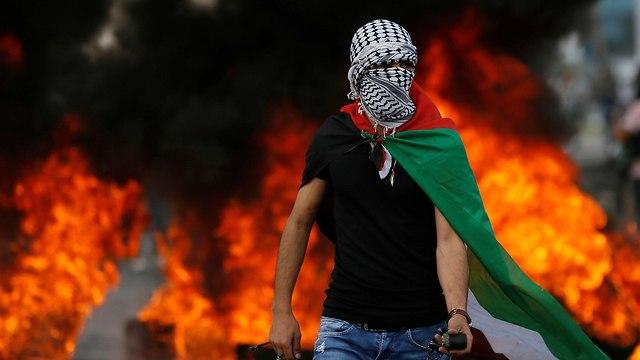 עימותים בין אזרחים פלסטינים וכוחות צה