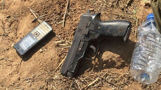 Оружие боевика ХАМАСа, захваченное ЦАХАЛом. Фото: пресс-служба ЦАХАЛа
