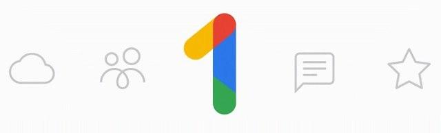 Google One - הלוגו החדש (צילום מסך)