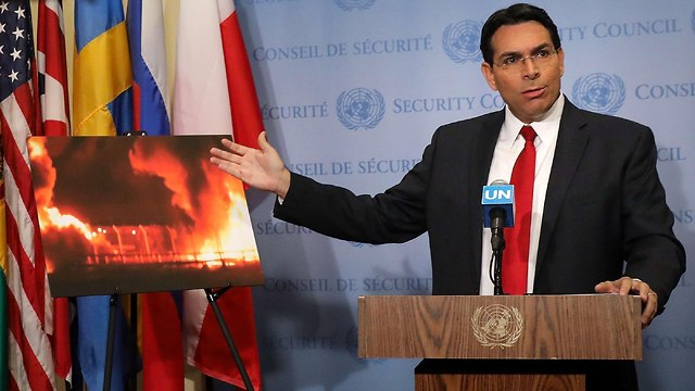 Hamas's cynicism and attempts to distort reality have reached a new low, Israel's Envoy to UN Danon said (Photo: AFP)