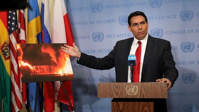ני דנון בפתח דיון מועצת הביטחון של ה או