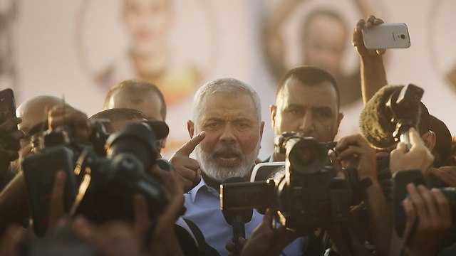Ismail Haniyeh. Hamas had to be hit hard enough to make it stop and think (Photo: Getty Images)