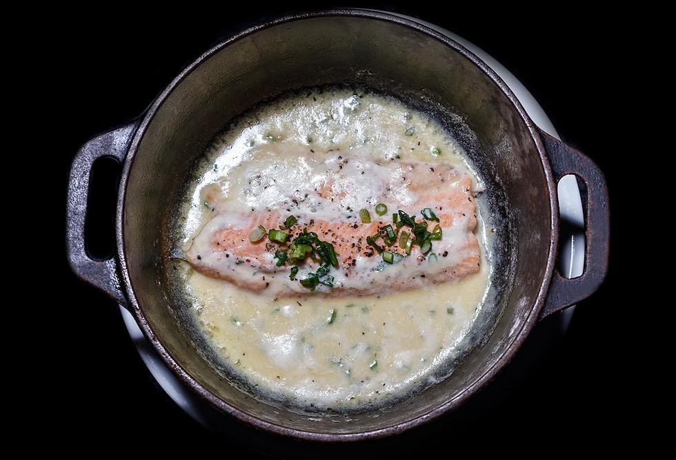 מתכוני דגים של עמוס שיאון לשבועות (צילום: דני גולן)