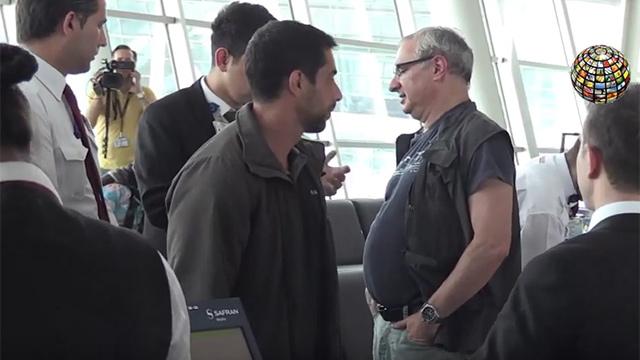 Посол Эйтан Наэ проходит проверку в Стамбуле