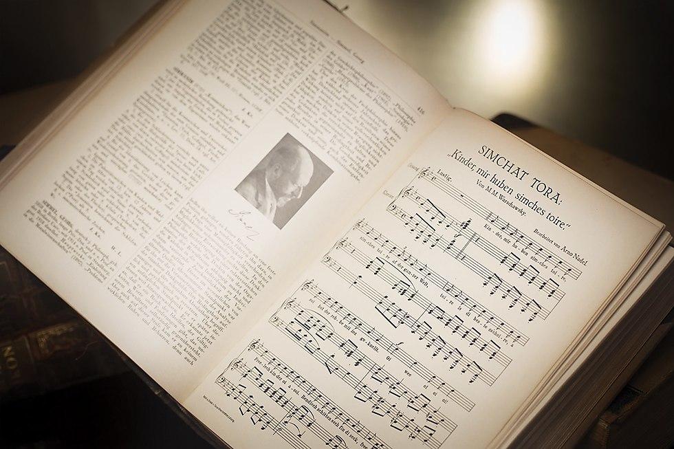 התווים הנשכחים מהאנציקלופדיה הגרמנית (צילום: רומן חנוכייב)