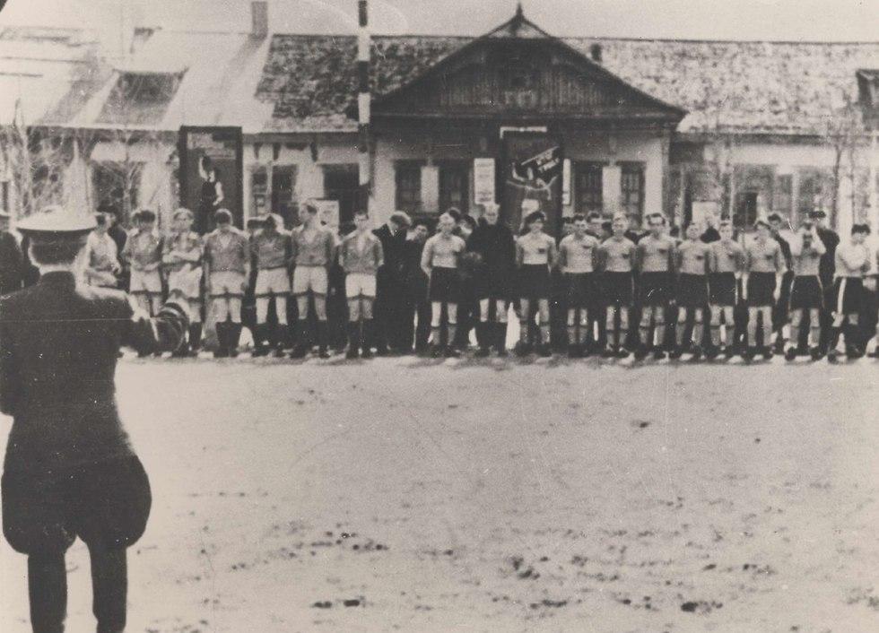 מכבי בלטיקה (צילום: יוסף שניידר, באדיבות ארכיון הספריה הלאומית)
