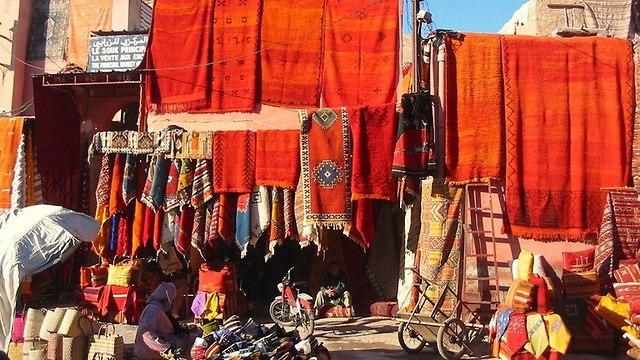 שוק dar zaman (צילום: globalculturetravel)