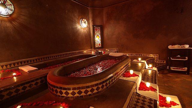 החמאם La Bian De Marrakech (צילום: מתוך אתר החמאם La Bian De Marrakech)