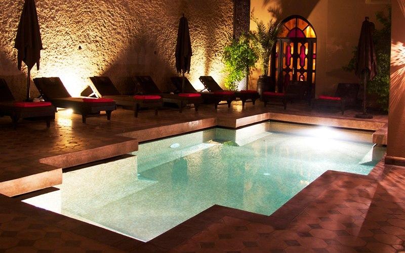החמאם היפה La Bian De Marrakech  (צילום: מתוך אתר החמאם La Bian De Marrakech)
