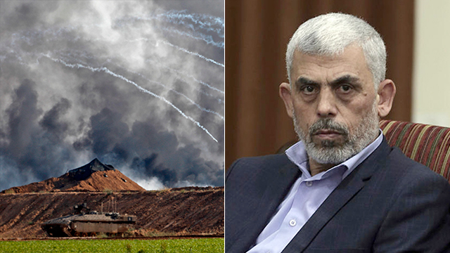 Hamas's Gaza leader Yahya Sinwar was said to be the March of Return protests' mastermind (Photo: AP, AFP)
