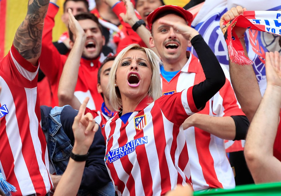 אתלטיקו מדריד מארסיי גמר ליגה אירופית (צילום: רויטרס)