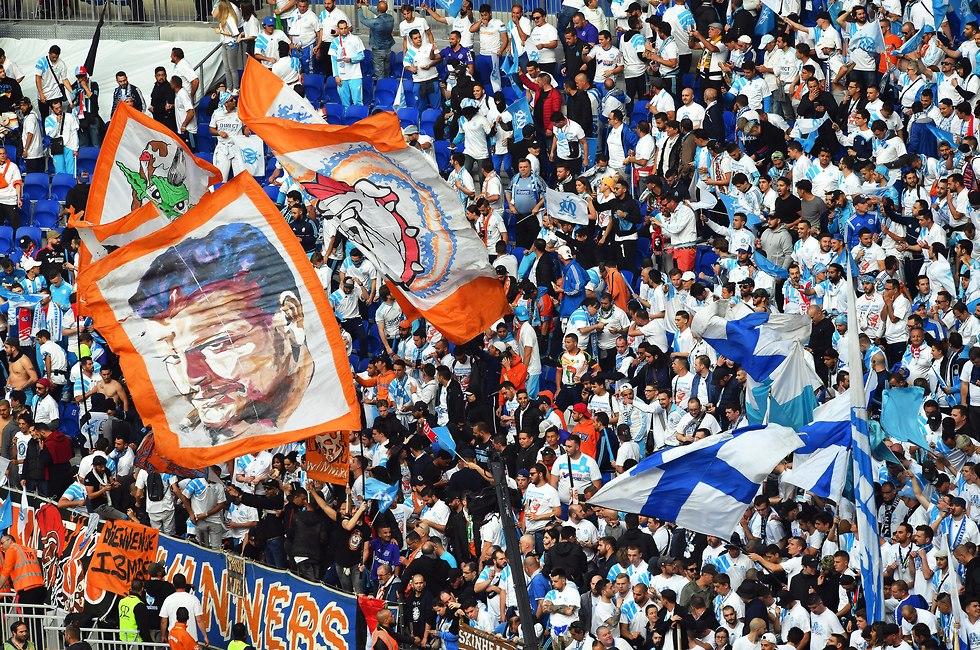 אתלטיקו מדריד מארסיי גמר ליגה אירופית (צילום: EPA)