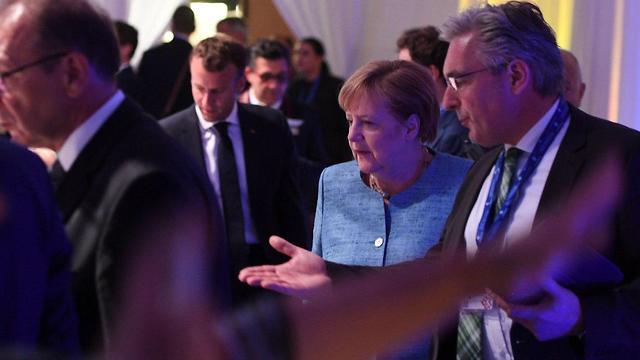 אנג'לה מרקל (צילום: AFP)
