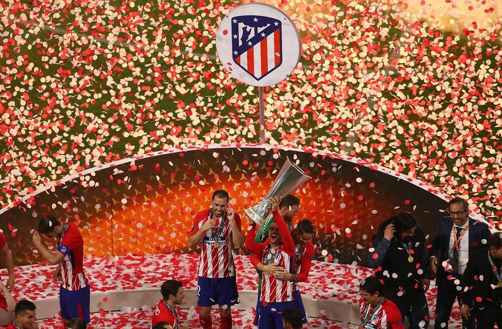 אתלטיקו מדריד מארסיי גמר ליגה אירופית (צילום: Getty images)