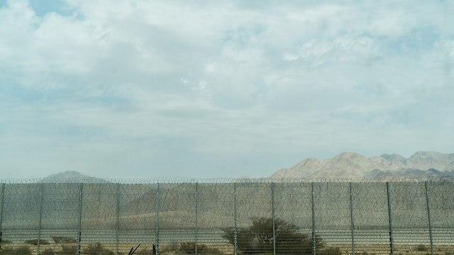 הגדר החדשה בגבול ירדן (צילום: דובר צה