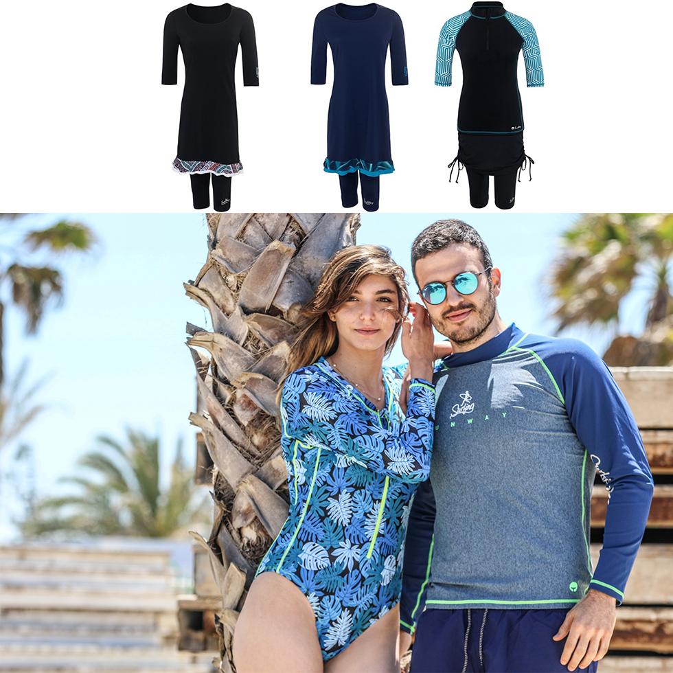 בגדי ים SunWay (צילום: טל טרי)