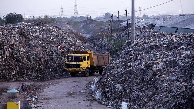 קנפור הודו העיר עם זיהום האוויר הגבוה בעולם (צילום: רויטרס)