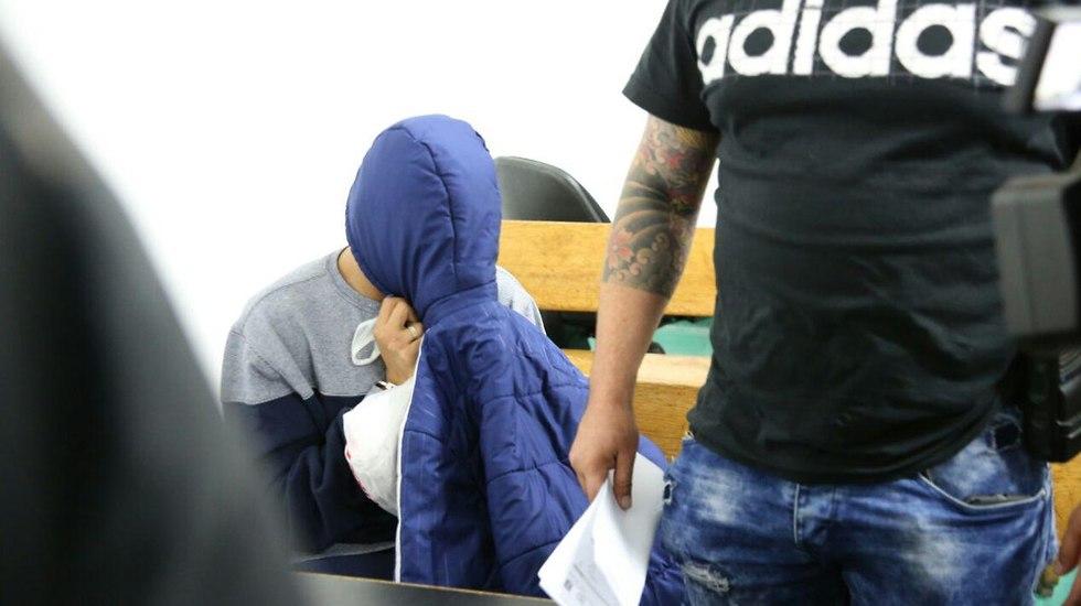 חשוד ברצח שתי אחיותיו ביפו (צילום: מוטי קמחי)