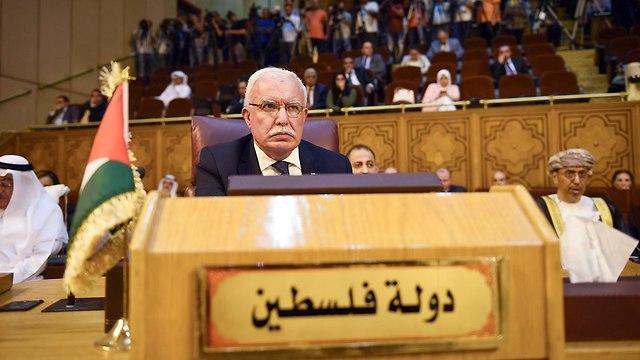 Риад аль-Мальки на совещании в Каире. Фото: AFP (Photo: AFP)