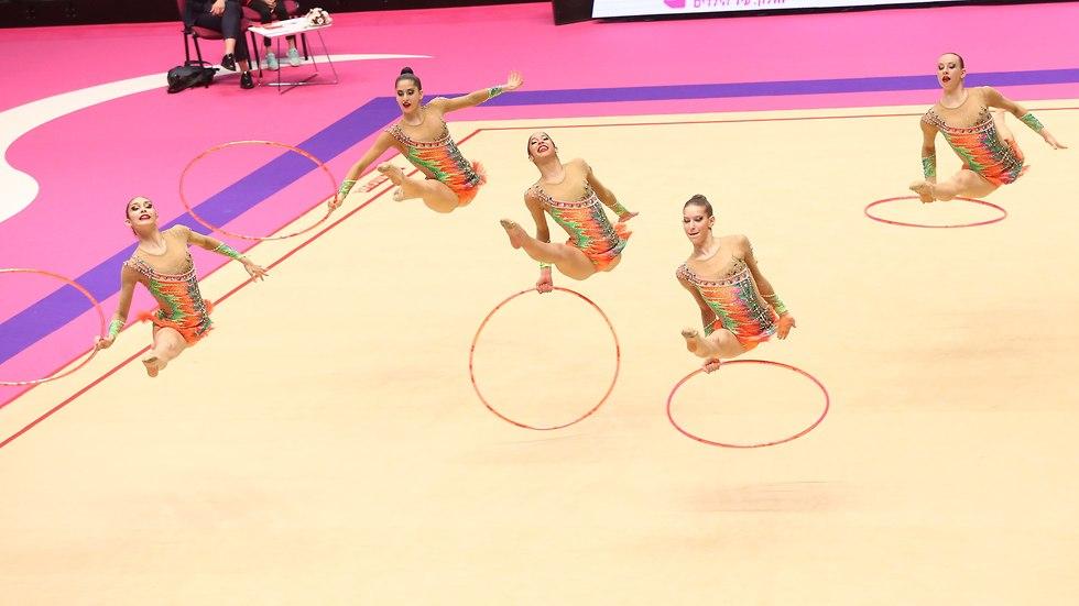נבחרת ישראל התעמלות אמנותית (צילום: אורן אהרוני)