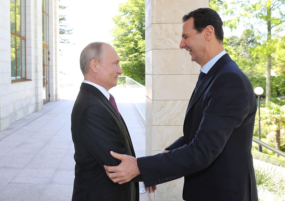 Russian President Vladimir Putin with Syrian counterpart Bashar Assad (Photo: Reuters)