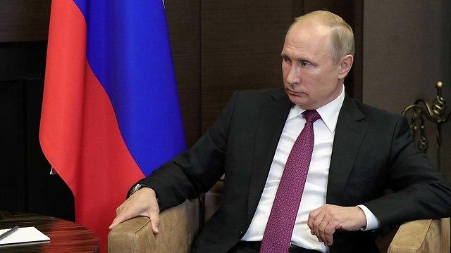 ולדימיר פוטין פגישה עם נשיא סוריה בשאר אסד ב סוצ'י רוסיה (צילום: רויטרס)