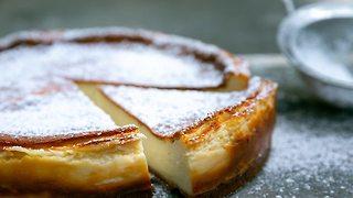 ביסקוטי שבועות עוגת גבינה (צילום: ירון ברנר)