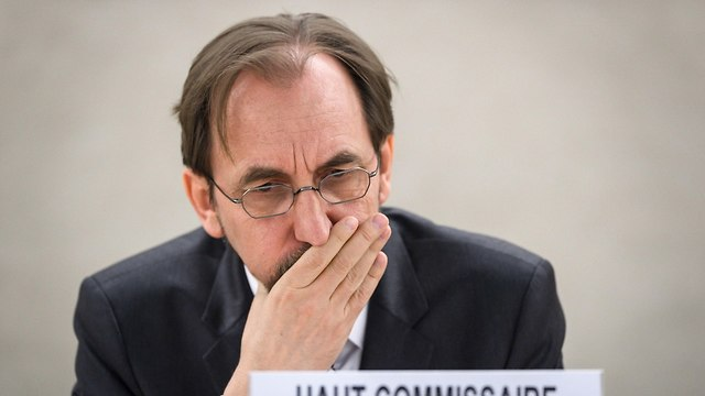 UNHRC Commissioner Zeid Ra'ad al-Hussein will appoint the commission of inquiry's members (Photo: AFP)