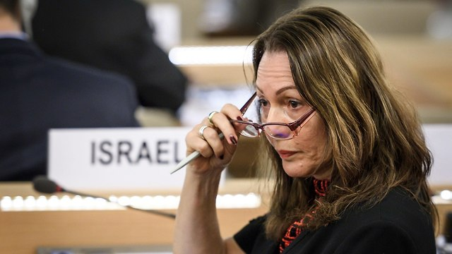 Israeli ambassador Aviva Raz Schechter (Photo: AFP)