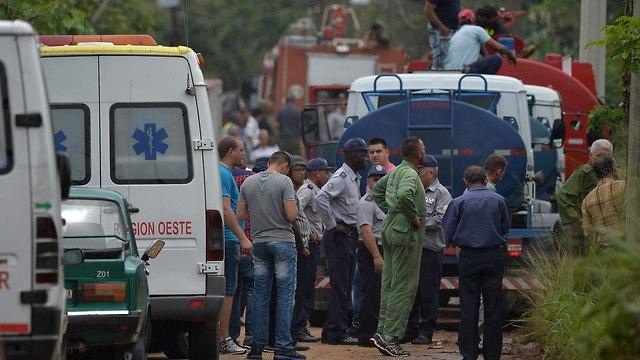 שדה התעופה בקובה (צילום: AFP)