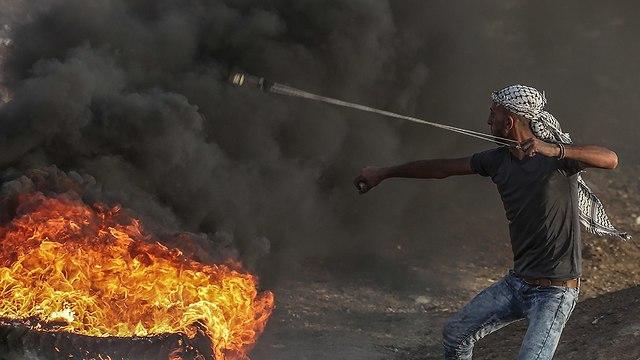 Riots on Gaza border (Photo: EPA)
