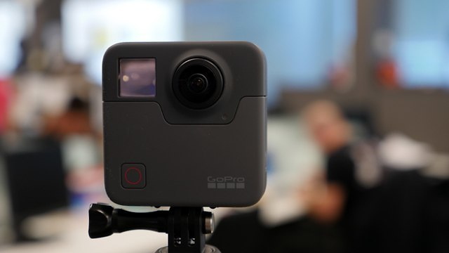 GoPro Fusion (צילום: גיא לוי)