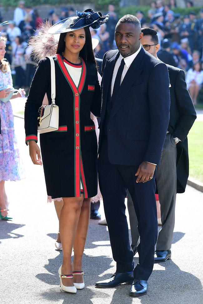 עם הארוסה בחתונה של הנסיך הארי ומייגן מרקל (gettyimages)