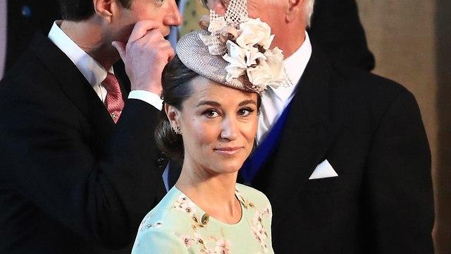 פיפה מידלטון בקהאם אורחים מגיעים ל טירת וינדזור חתונה הנסיך הארי מייגן מרקל בריטניה (צילום: gettyimages)