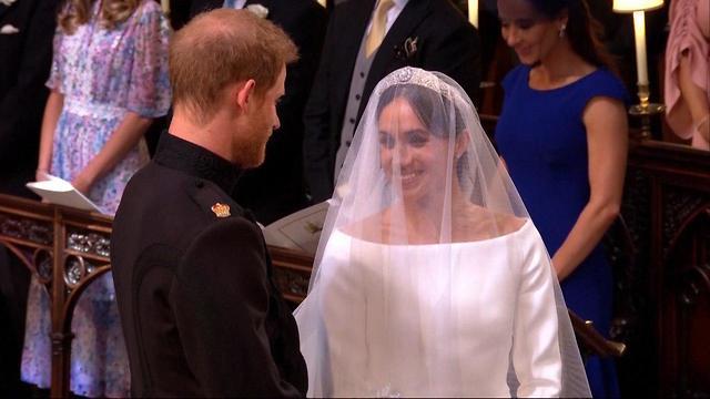 חתונה מייגן מרקל הנסיך הארי טירת וינדזור בריטניה (צילום: רויטרס)