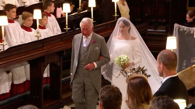 К венцу невесту ведет принц Чарлз. Фото: ФР