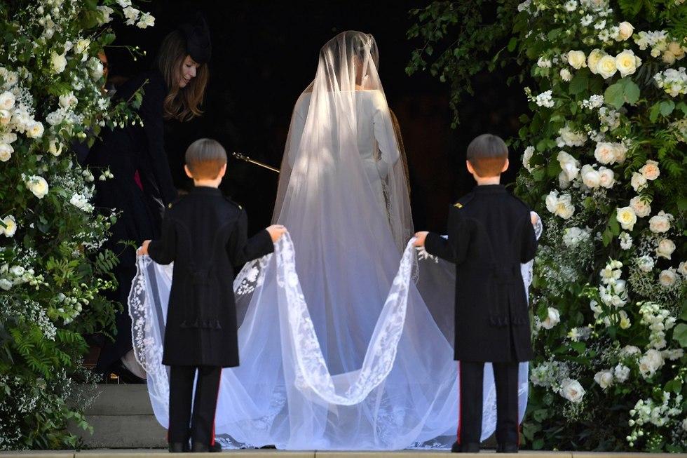 חתונה מייגן מרקל הנסיך הארי טירת וינדזור בריטניה (צילום: AP)