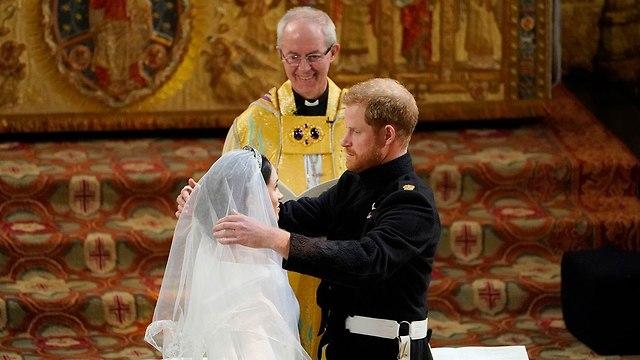חתונה מייגן מרקל הנסיך הארי טירת וינדזור בריטניה (צילום: gettyimages)