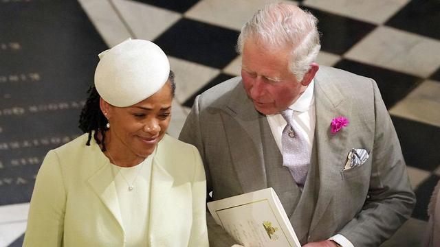הנסיך צ'ארלס ודוריה רדלן (צילום: AFP)