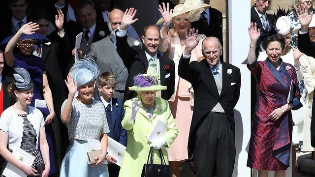 המלכה אליזבת' והנסיך פיליפ (צילום: רויטרס)