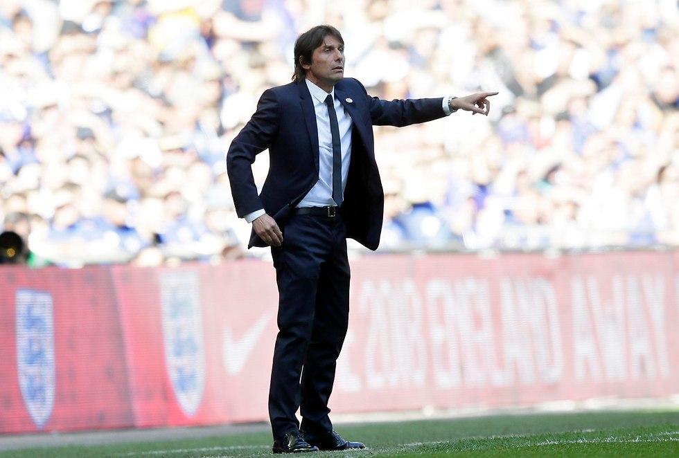 אנטוניו קונטה במשחק (צילום: AP)