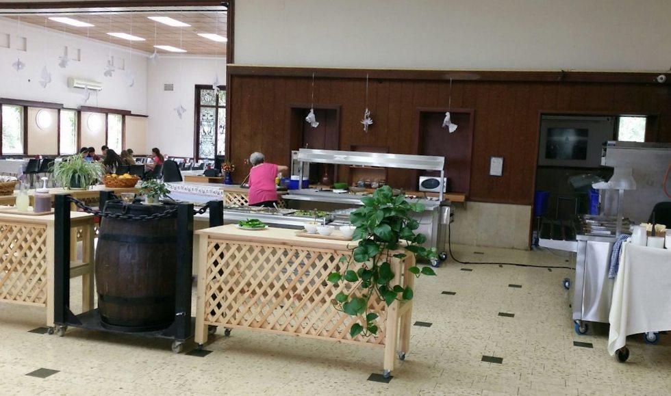 חדרי אוכל בקיבוצים (צילום: יח