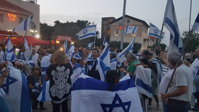 A rally for coexistence in Haifa (Photo: Ahiya Raved)