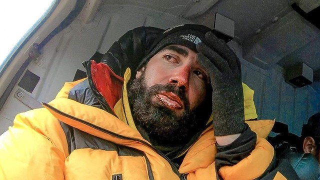 Nadav ben Yehuda who was rescued from mount Kangchenjunga after presumed dead (Photo: Ben Yehuda family)