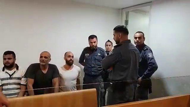 הארכת מעצר לעצורים מהעימותים בעזה (צילום: אחיה ראב