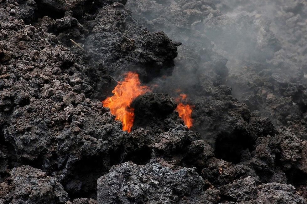 הר הגעש קילוואה ב הוואי (צילום: רויטרס)