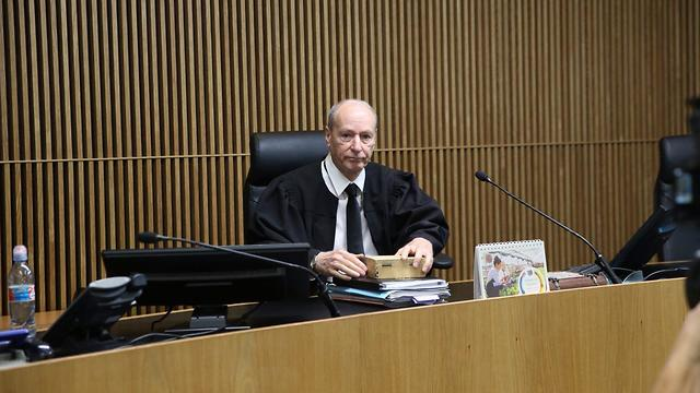Judge Zvi Gurfinkel criticized the fact that Shamai was allowed to keep working as a teacher despite a prior conviction in sexual offenses (Photo: Motti Kimchi)