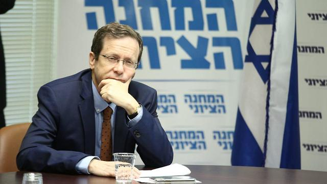 Herzog. From the Knesset to the Jewish Agency (Photo: Hillel Meir/TPS)