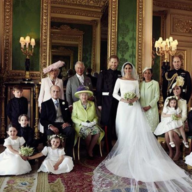 התמונות הרשמיות מהחתונה של הארי ומייגן (צילום: Alexi Lubomirski)