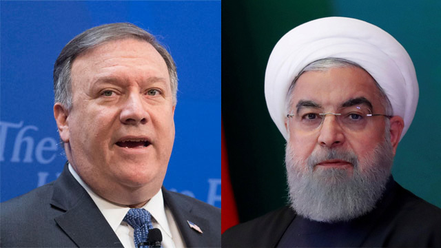 עלי חמינאי מייקל פומפאו איראן ארה